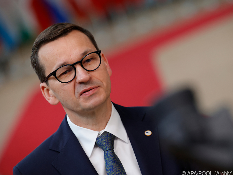 Polens Ministerprösident Mateusz Morawiecki