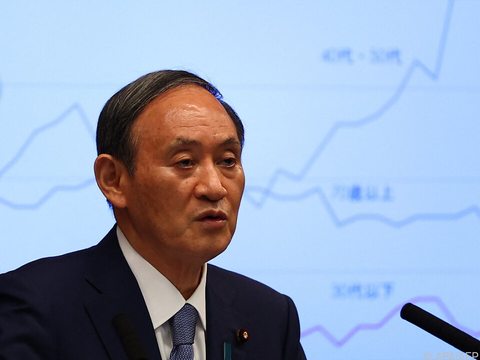 Premier Yoshihide Suga hat Wahlen zu schlagen