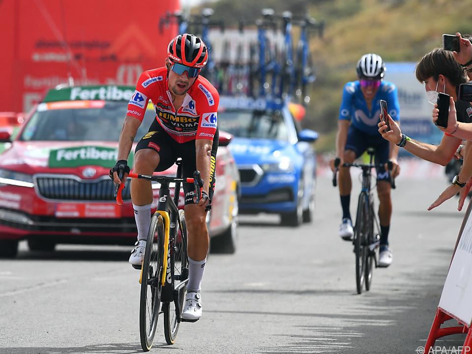 Primoz Roglic ist nicht mehr Gesamtführender der Vuelta
