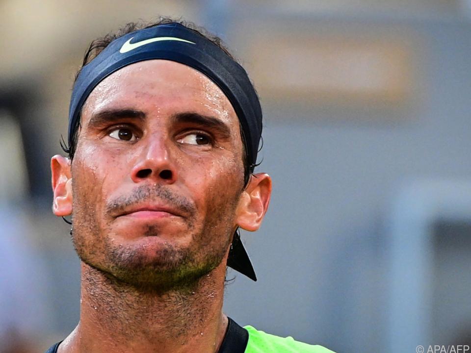 Rafael Nadal muss seine Saison vorzeitig beenden/Archivbild