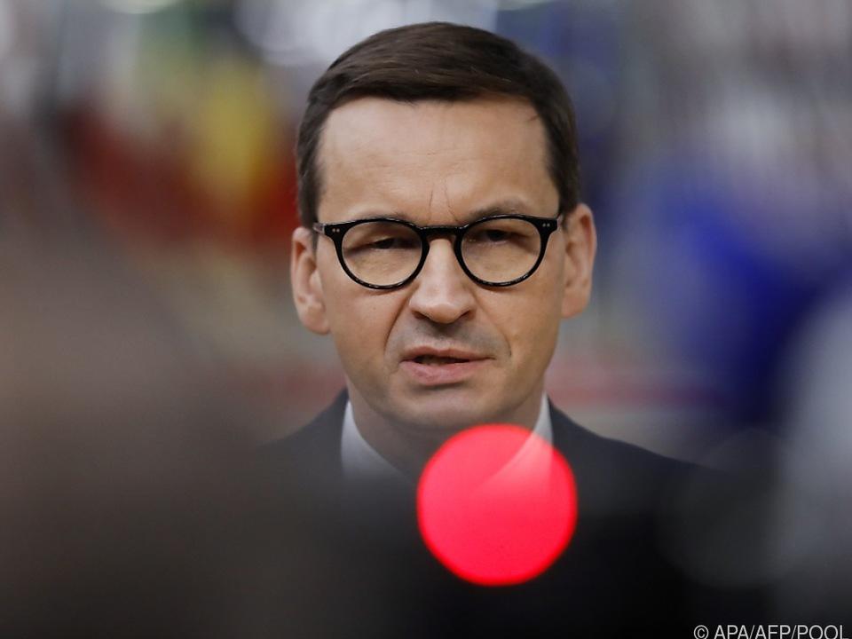 Regierungschef Morawiecki hatte Gowin am Dienstag entlassen