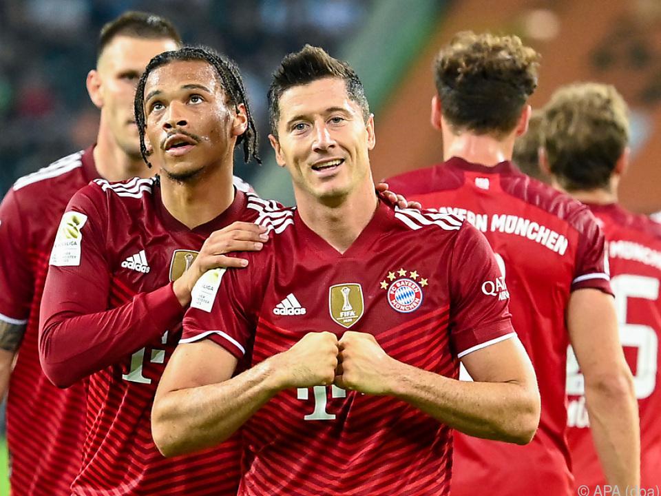 Rekordmann Lewandowski sicherte Bayern einen Punkt