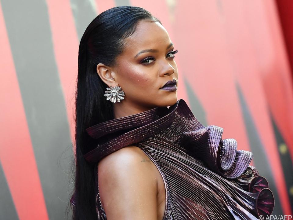 Rihanna hat schon länger ausgesorgt