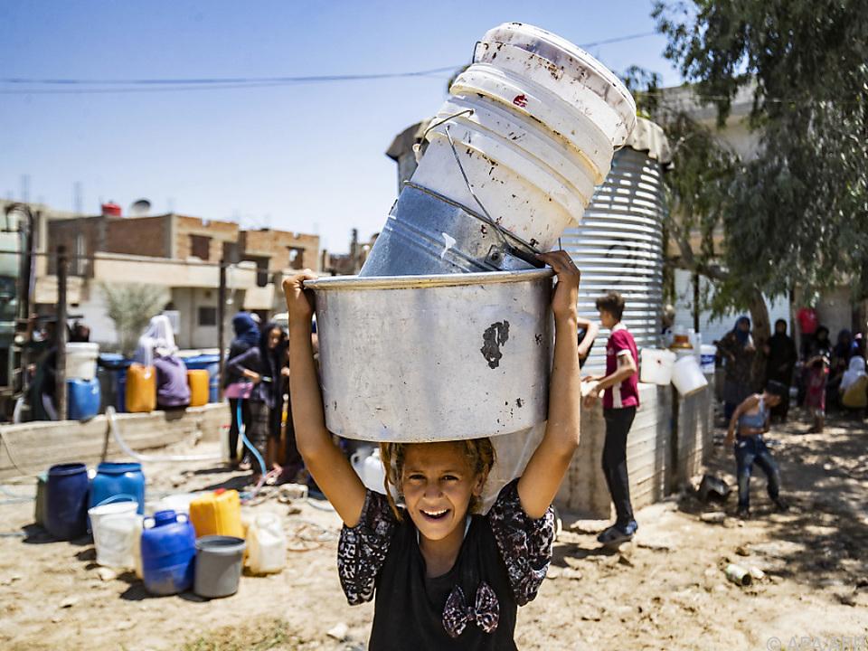 Rund 820 Millionen Kinder sind extrem hohen Klima-Risiken ausgesetzt
