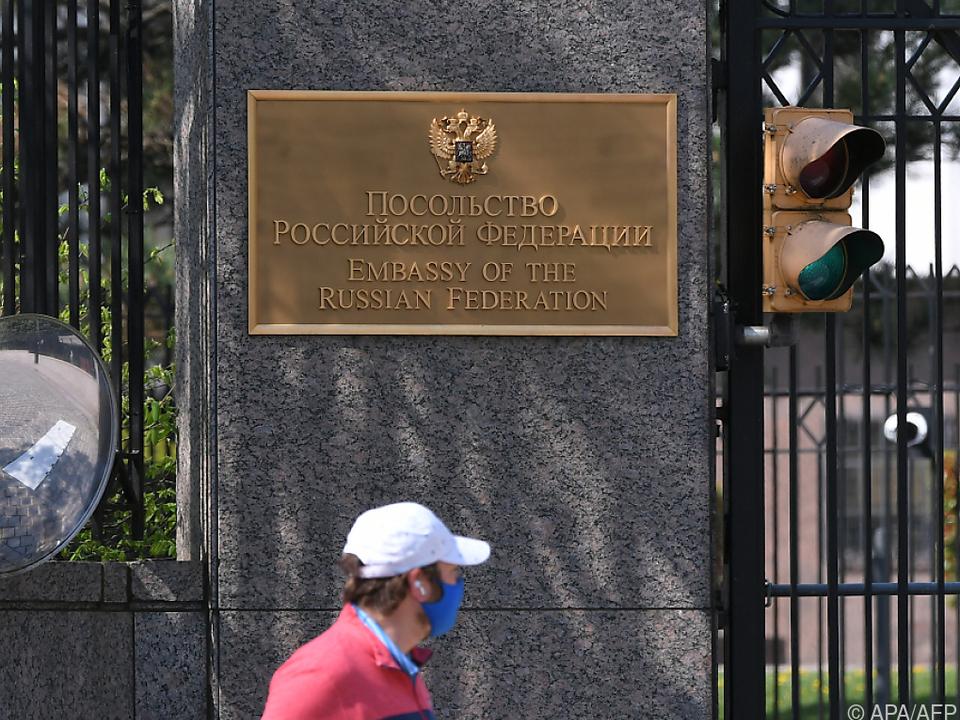 Russische Botschaft in Washington leert sich