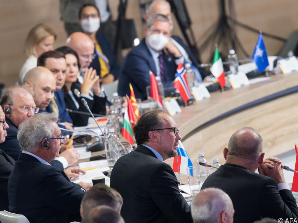 Schallenberg bei internationalem Krim-Gipfel in Kiew