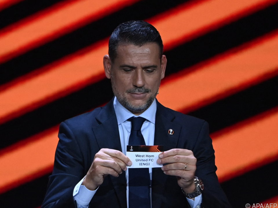 Sevilla-Ikone Andres Palop enthüllte Rapids Gegner West Ham