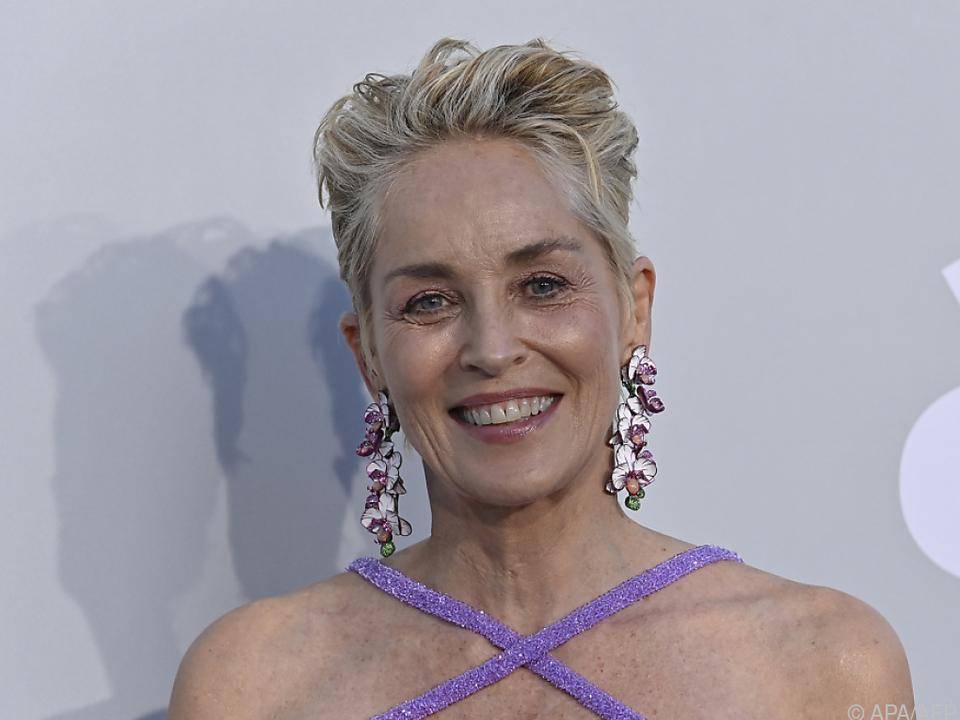 Sharon Stone nimmt Preis am 25. September entgegen