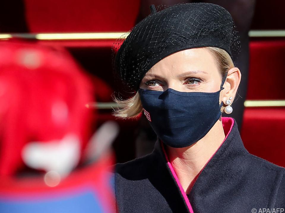 Sitzt mit Gesundheitsproblemen in Südafrika fest: Fürstin Charlène