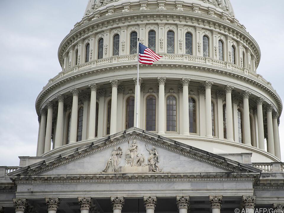 Spannende Tage im Kapitol in Washington
