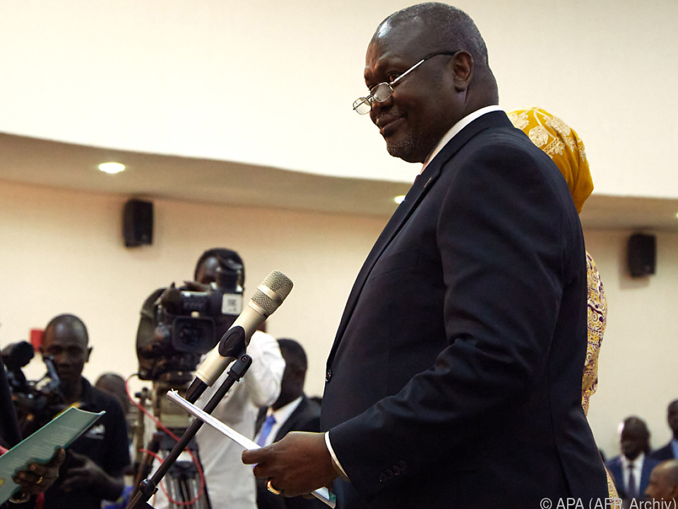 Südsudans Vizepräsident Riek Machar