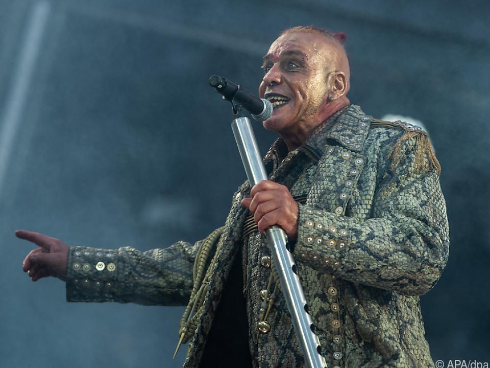 Till Lindemann ist in Russland sehr populär