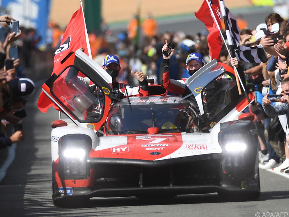 Toyota feierte bei den 24 Stunden von Le Mans einen Doppelsieg