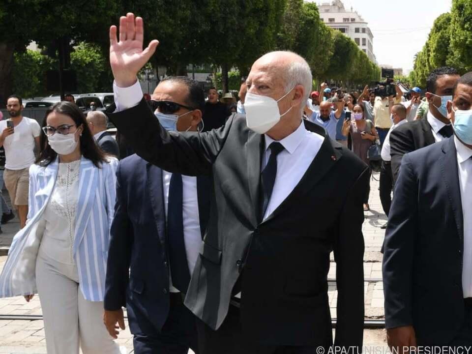 Tunesiens Präsident will der starke Mann bleiben