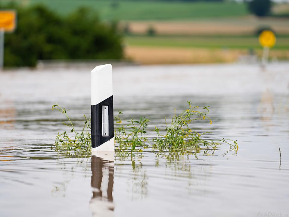 Unwetterwarnung für Teile von Salzburg
