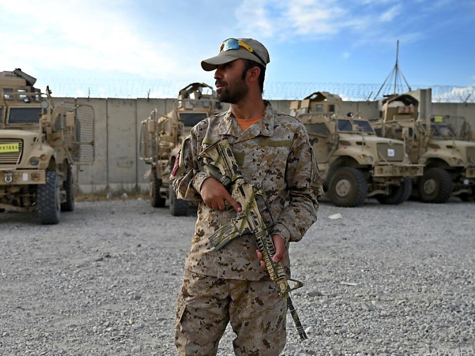 US-Geheimdienste rechnen mit Fall von Kabul