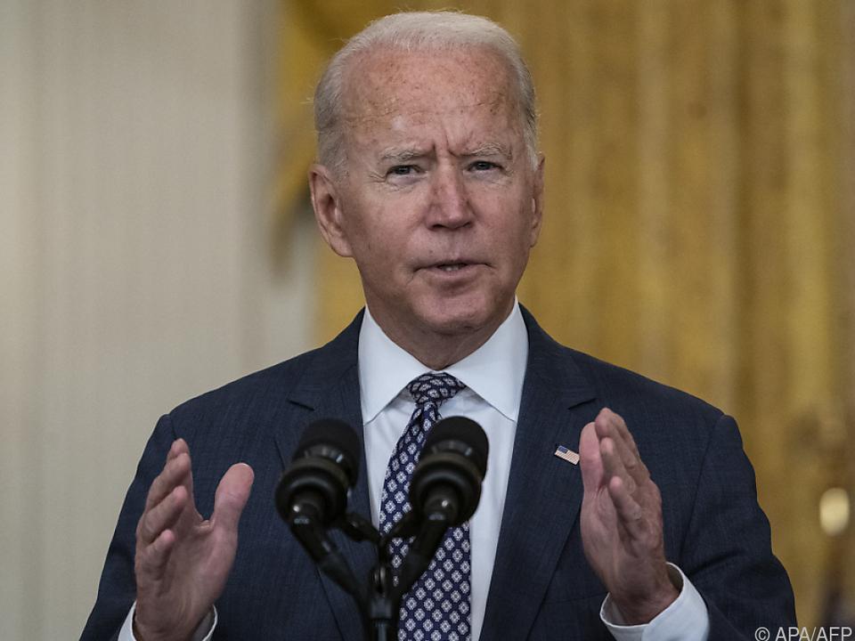 US-Präsident Biden will Amerikaner rasch aus Afghanistan evakuieren