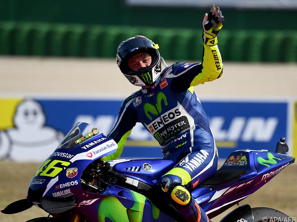 Valentino Rossi beendet mit Saisonende Motorrad-Karriere