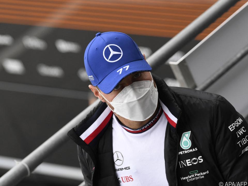 Valtteri Bottas will auch 2022 für Mercedes fahren