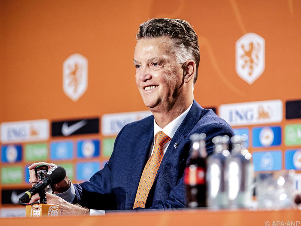 Van Gaal vor seiner dritten Amtszeit als Bondscoach