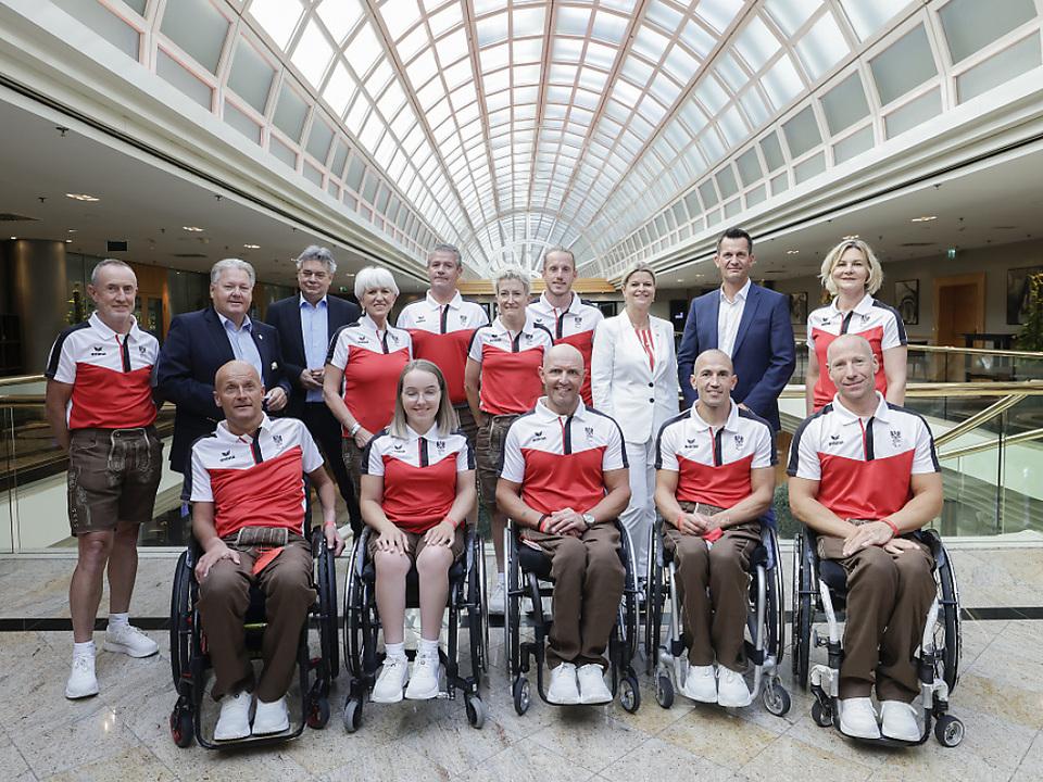 Verabschiedung des österreichischen Paralympicteams Ende Juli