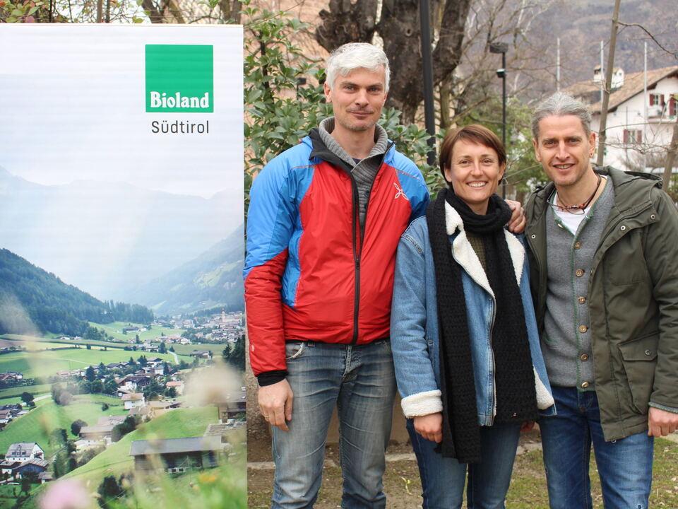Verwaltungsrat Bioland Südtirol, Riegler, Bellutti, Steger