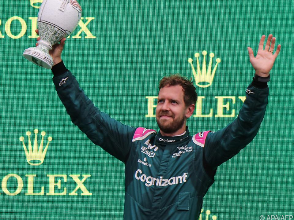 Vettel fiel um Platz zwei in Budapest um
