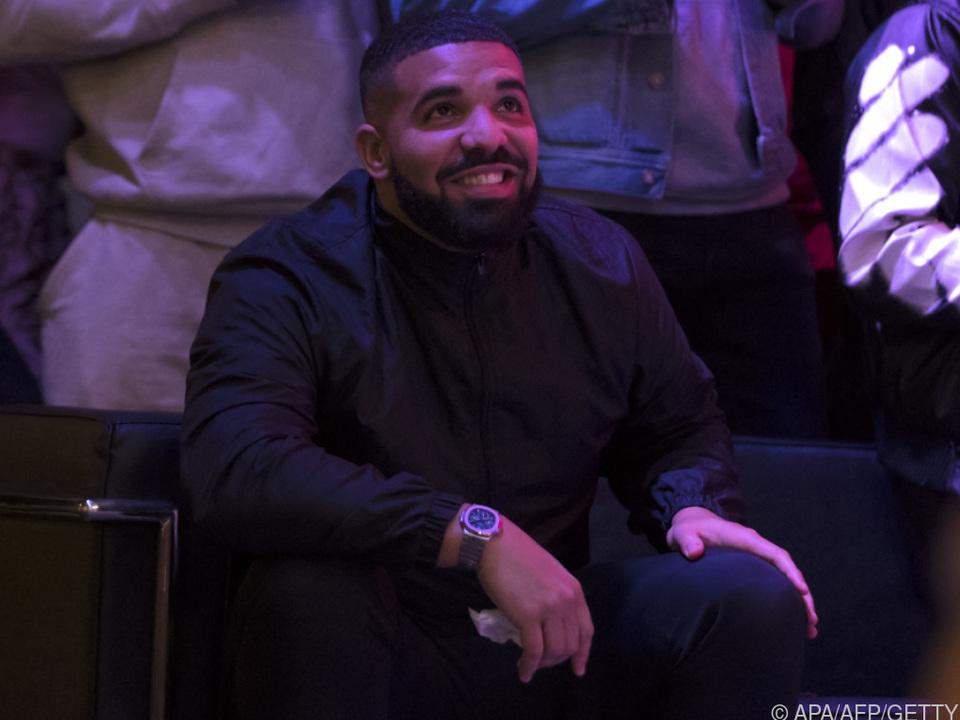 Vielfach preisgekrönter Rapper Drake