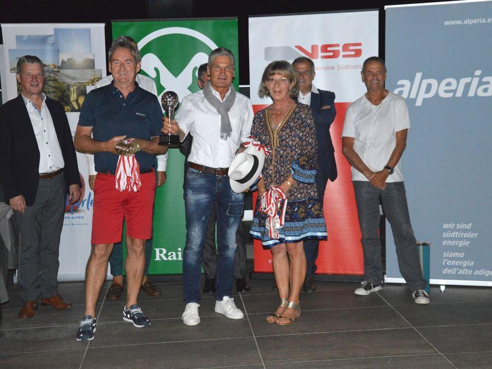 VSS-Raiffeisen SeniorenGolfcup_Sieger Mannschaftswertung Brutto