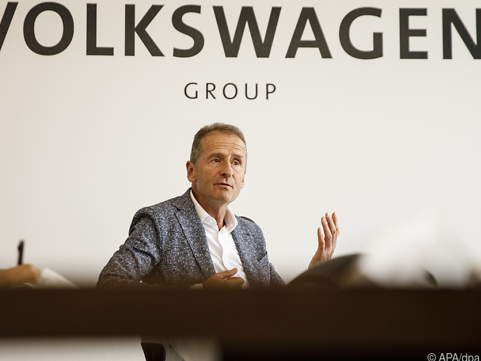 VW-Chef Diess: Europa muss bei Digitalisierung rasch aufholen