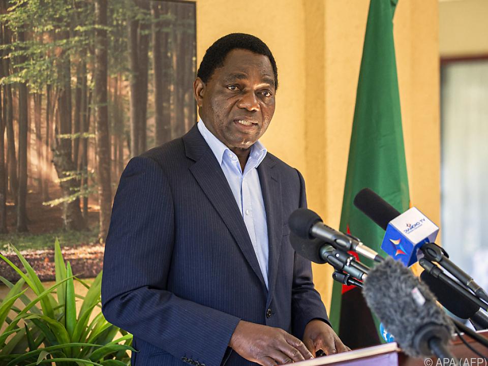 Wahlsieger Hakainde Hichilema