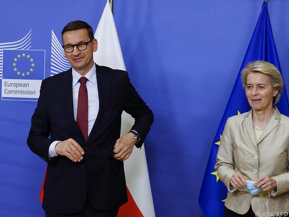 Warschau lenkt im Streitz mit der EU ein