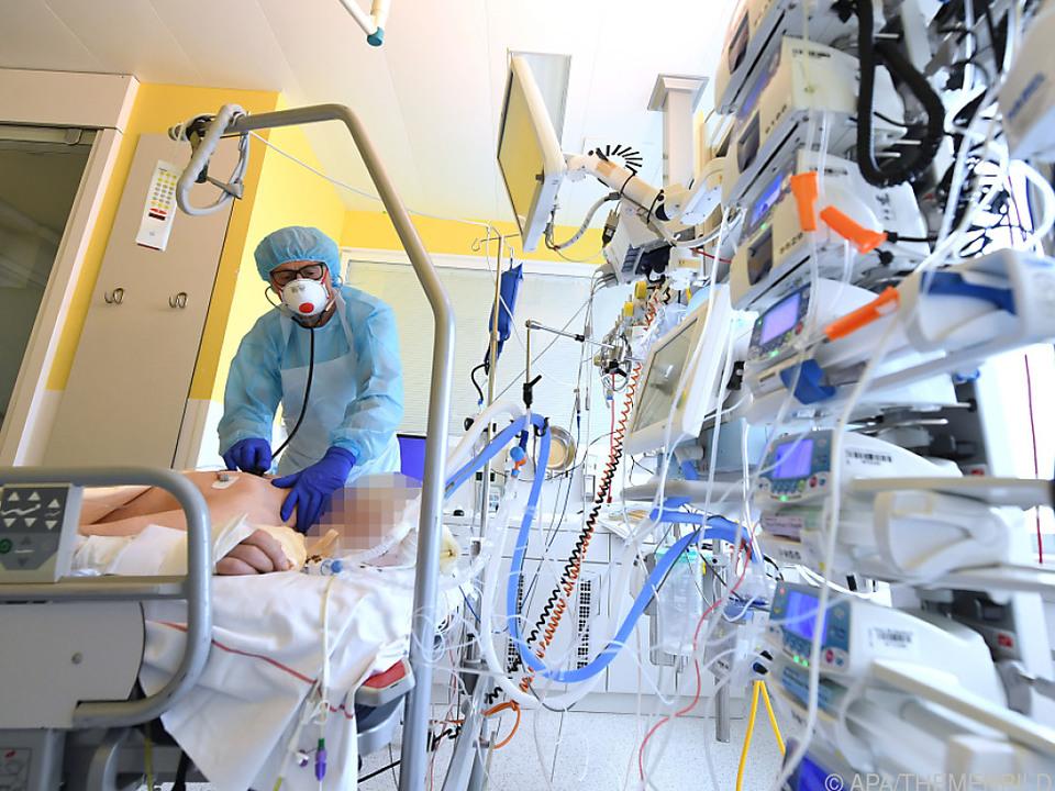 Zahl der Intensivpatienten hat sich binnen zwei Wochen verdoppelt