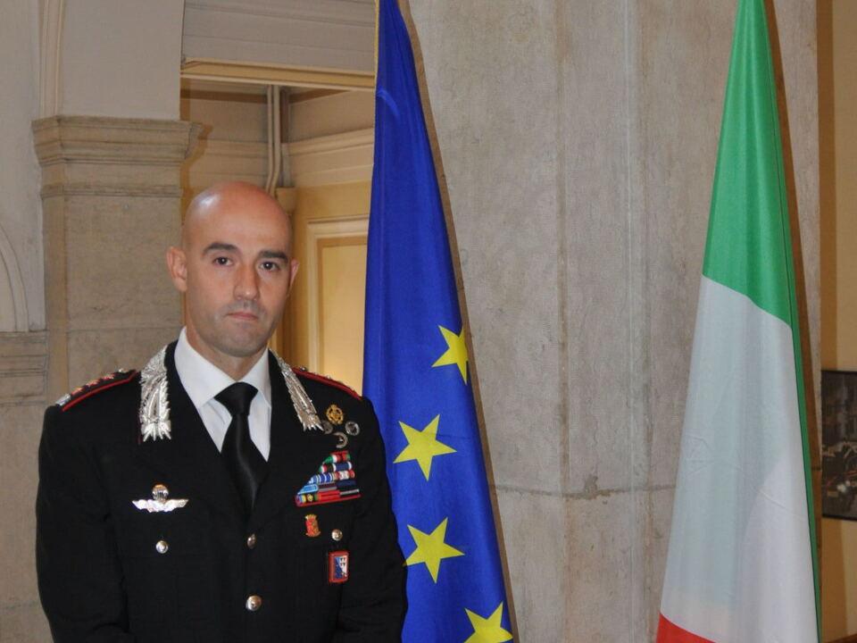 Oberst Raffaele Rivola Landeskommandant Carabinieri