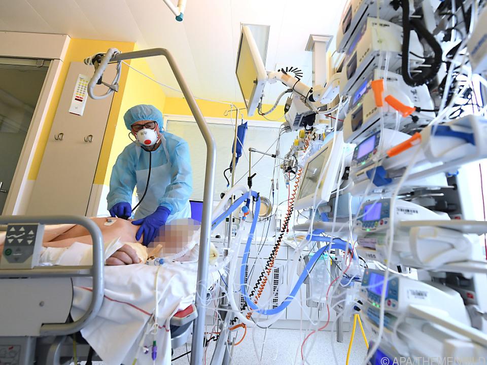 212 Covid-Patienten auf Intensivstationen