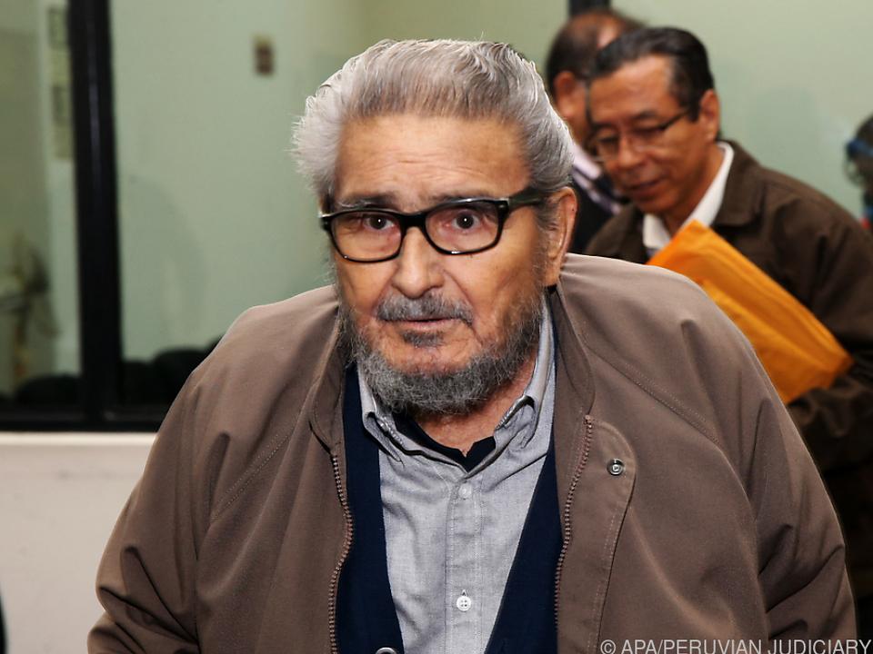 Abimael Guzman wurde 86 Jahre alt