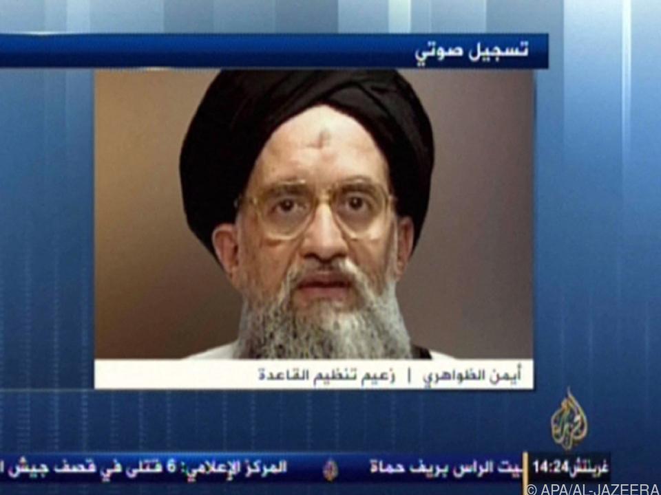 Al-Kaida-Chef in einem Video aus dem Jahr 2013