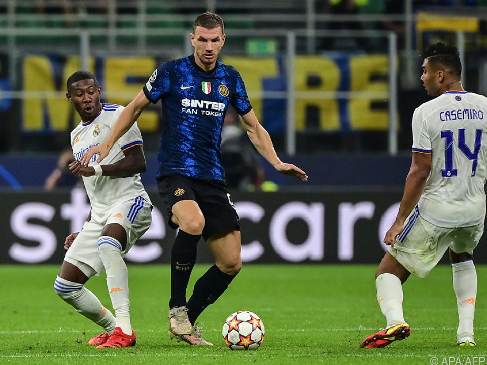 Alaba gewann mit Real bei Inter Mailand