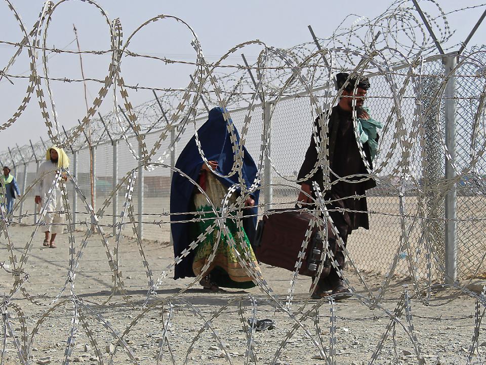 An der afghanisch-pakistanischen Grenze