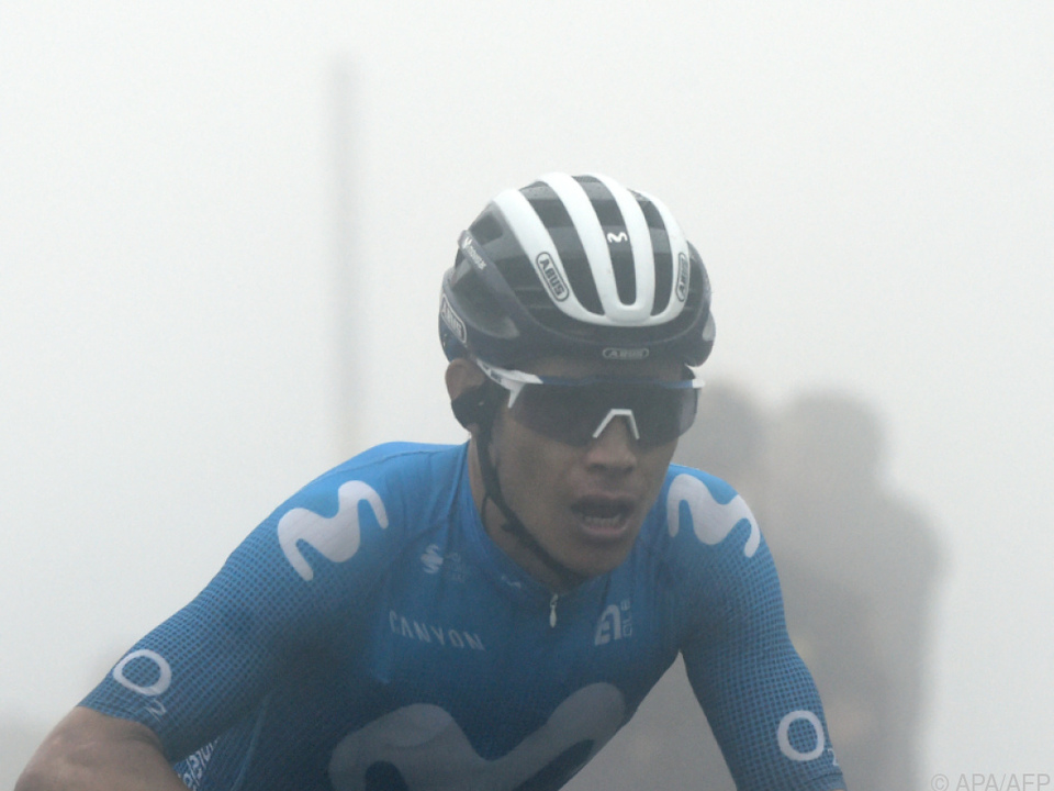 Angel Lopez gewann Vuelta-Nebeletappe