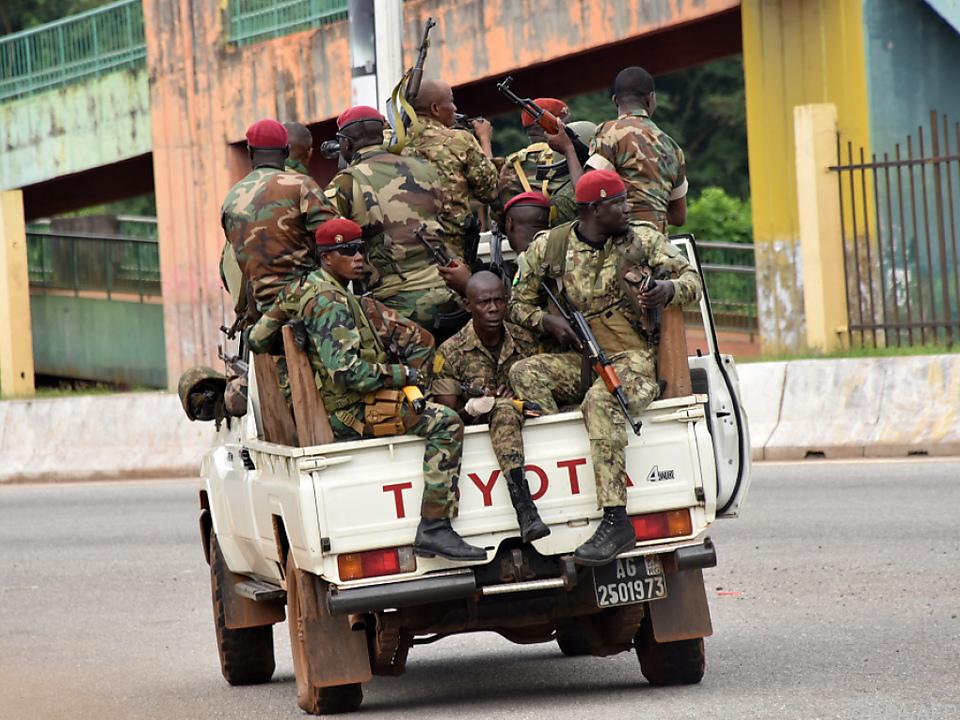 Armee kontrolliert die Straßen von Conakry