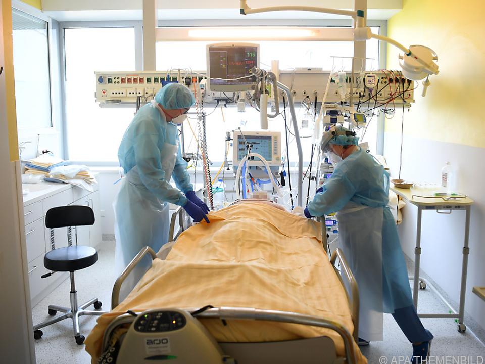 Auf Wiener ICU-Stationen sind vier Patienten jünger als 30