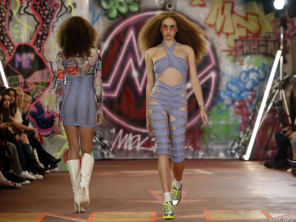 Auftakt und Comeback der Londoner Fashion Week
