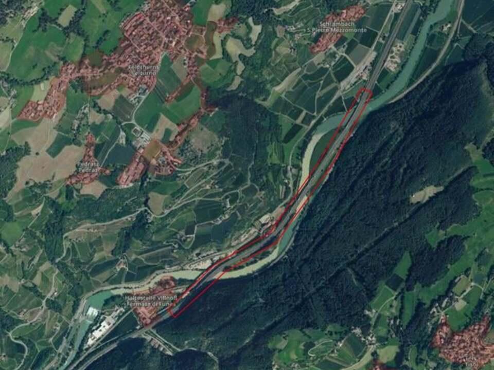 a22 Barriere antirumore A22 Funes-SPietro Mezzomonte