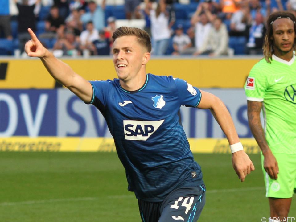 Baumgartner scorte bei Hoffenheim-Sieg über Wolfsburg