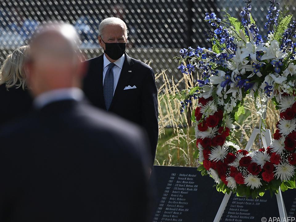 Biden beim 20. 9/11-Gedenken am US-Verteidigungsministerium