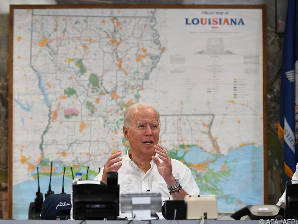 Biden reiste nach Louisiana