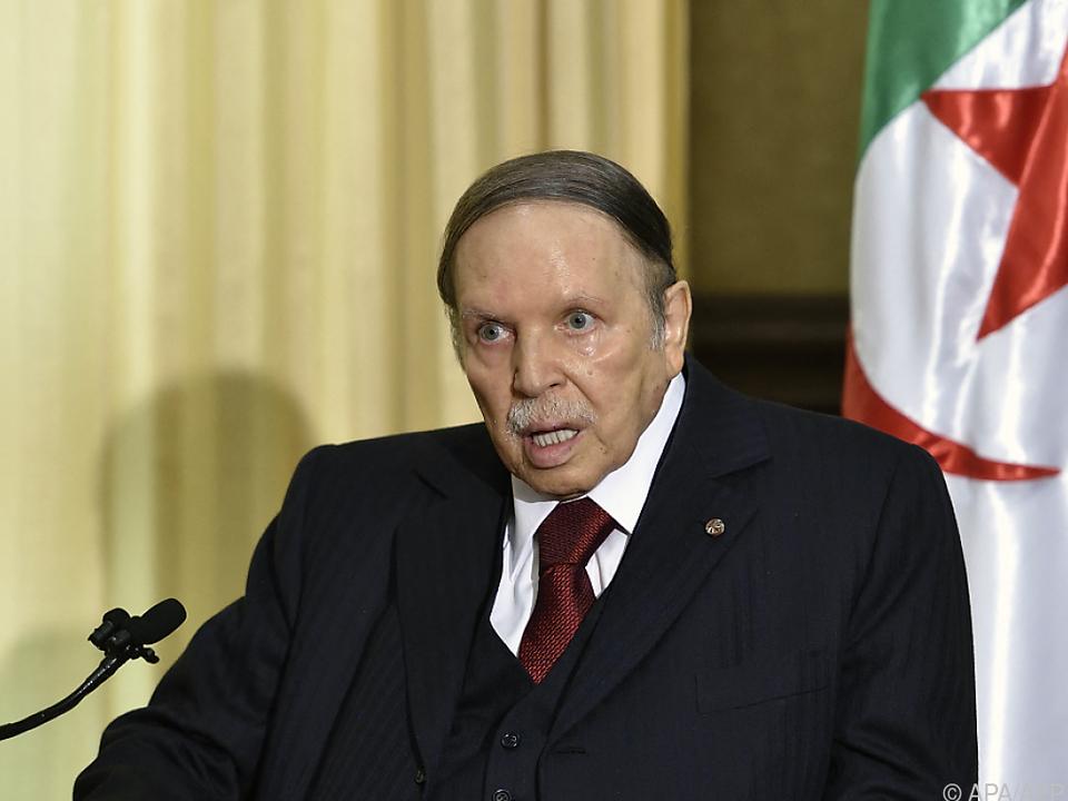 Bouteflika wurde nach Massenprotesten entmachtet