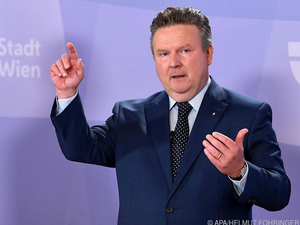 Bürgermeister Ludwig verkündete geplante Verschärfungen