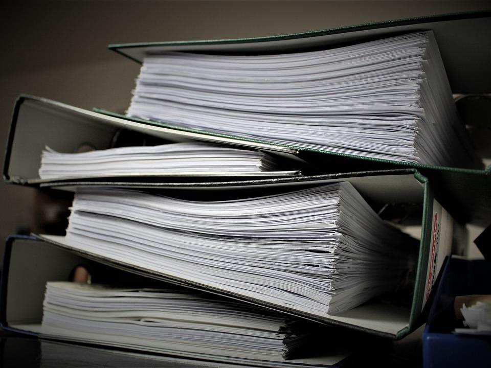 Bürokratie job büro arbeit sym